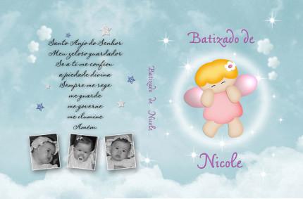Batizado de Nicole