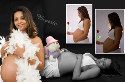 Ensaio da Gravidez de Beatriz