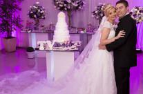 Casamento de Thatiane e Victor  Casa de Festas Mansão Dom Costa